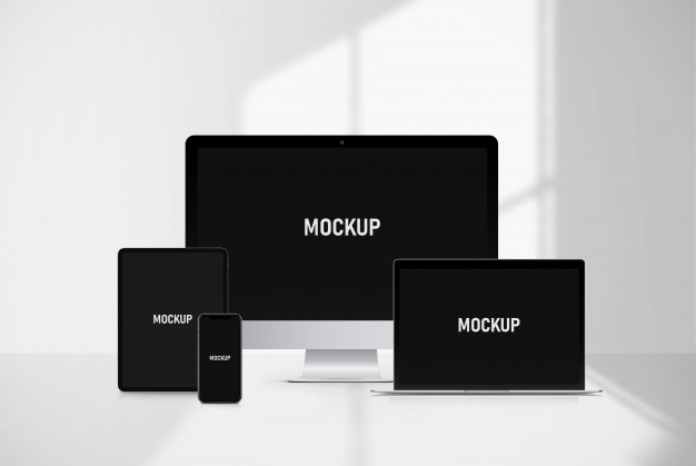 Multi devices mockup Premium Psd