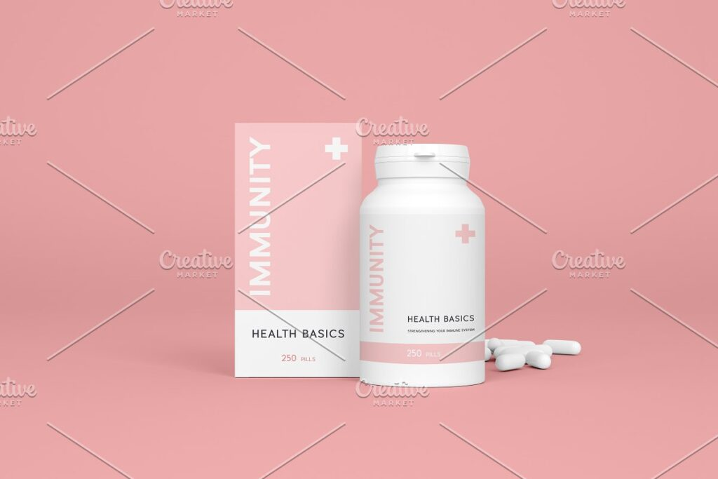 Pharmaceutical mockups bundle