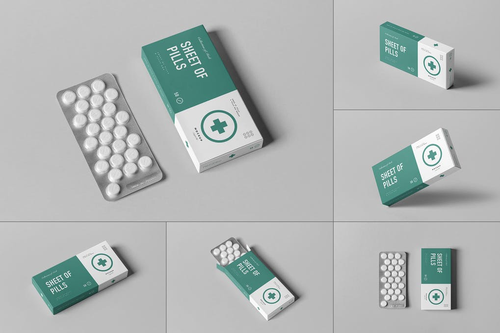 Pills Box Mock-up