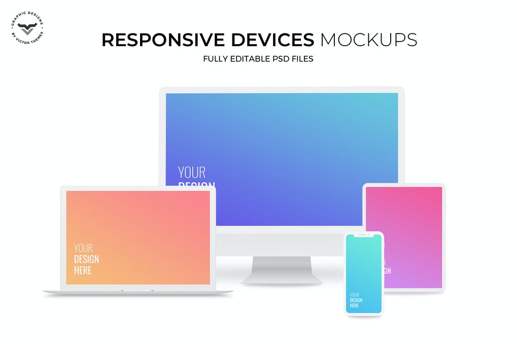 Responsive Devices Mockups