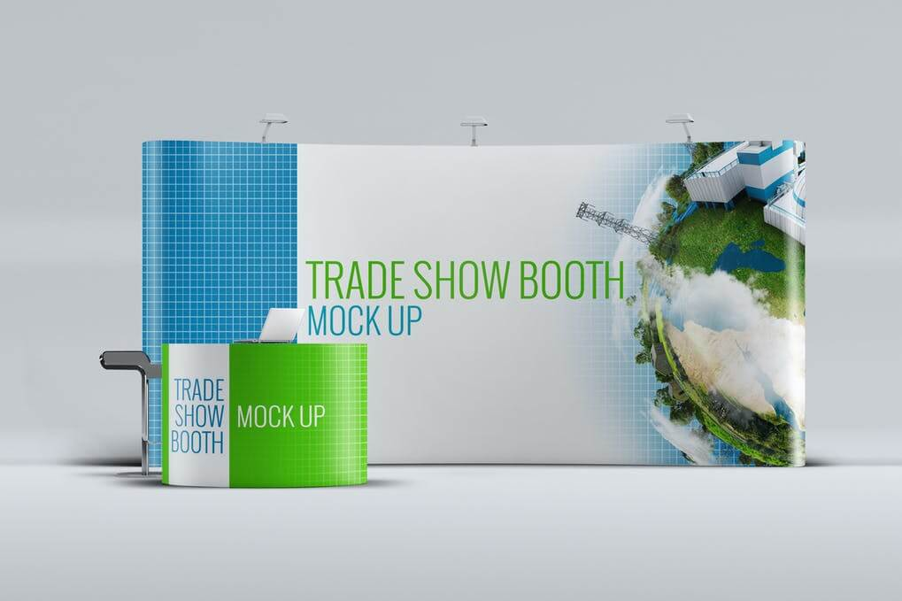 Trade Show Booth Mock-up