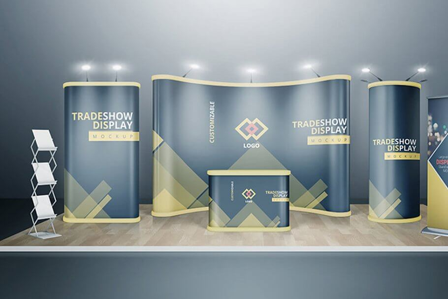 https://creativemarket.com/Vectogravic/2180718-Various-Trade-Show-Exhibition-Mockup