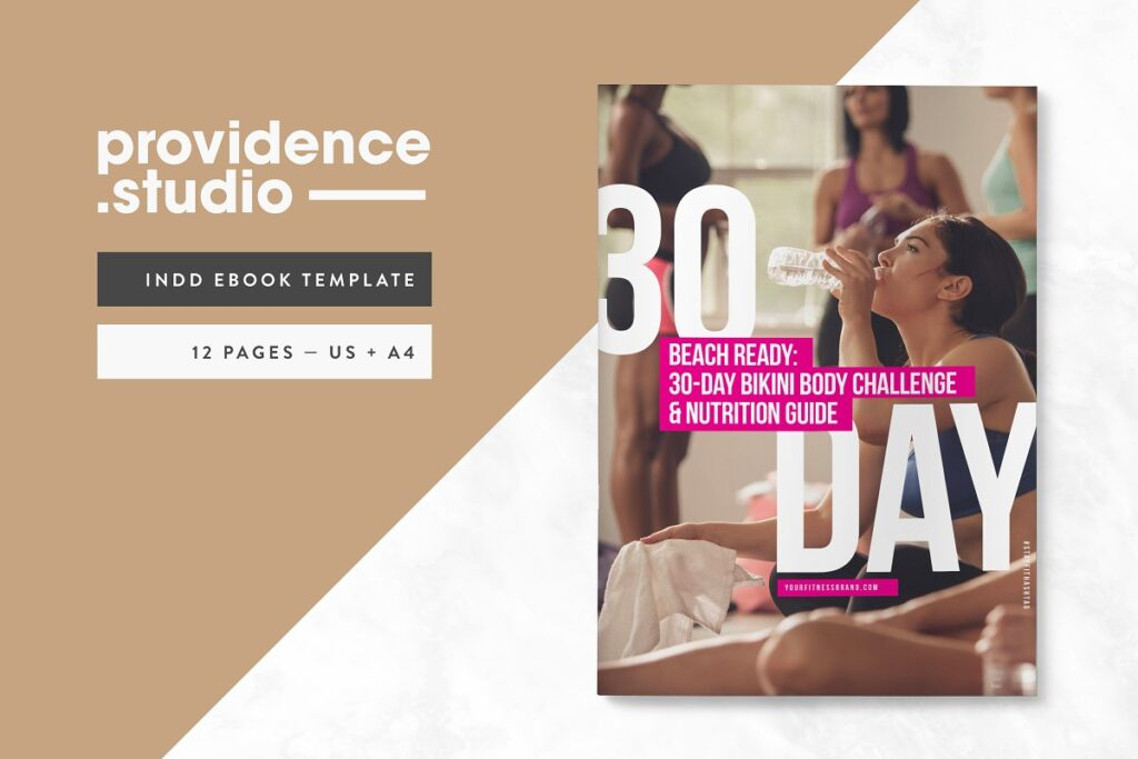 12 Pages eBook Template Design