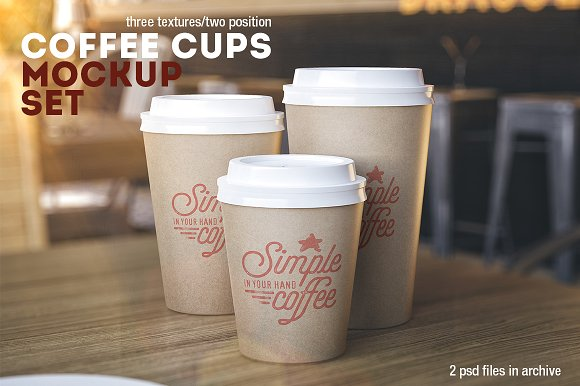 2 PSD file Cup Design