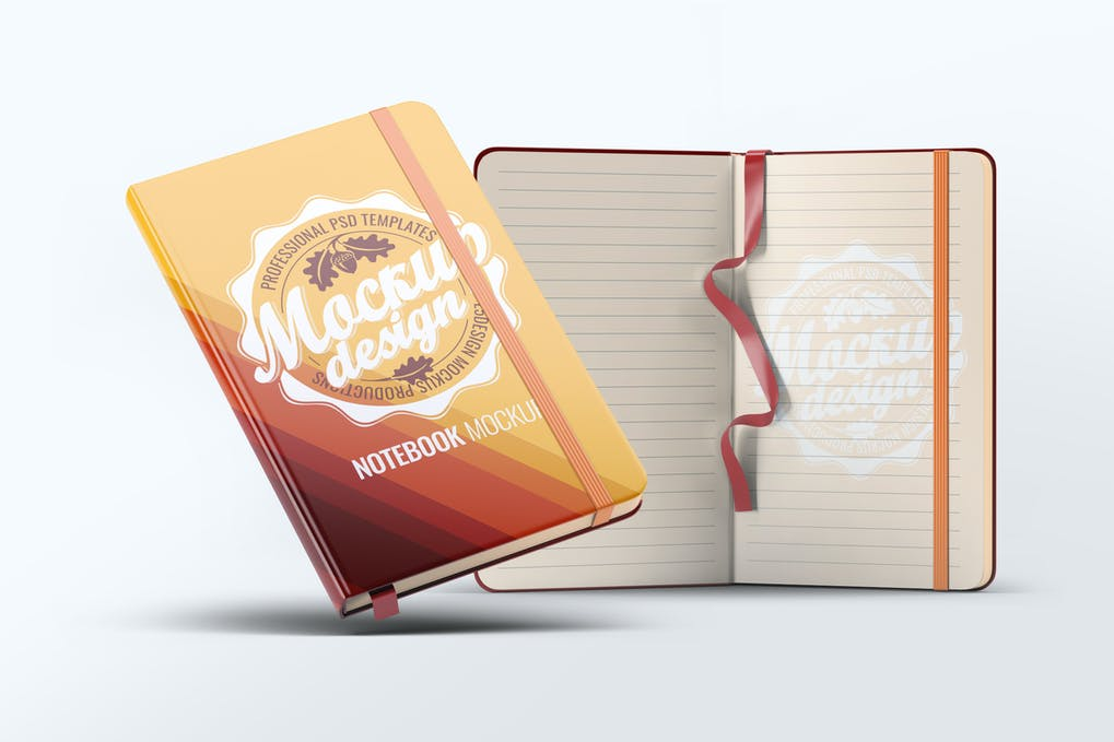 A5 Notebook Mock-Up