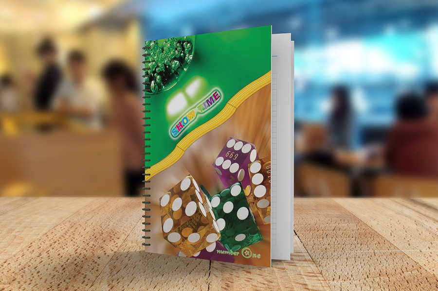 A5 Size Notebook PSD Design