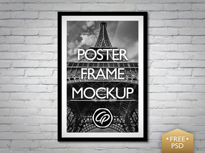 Amazing Background Poster PSD Mockup