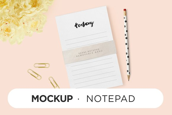Amazing Pencil with To Do List Mockup