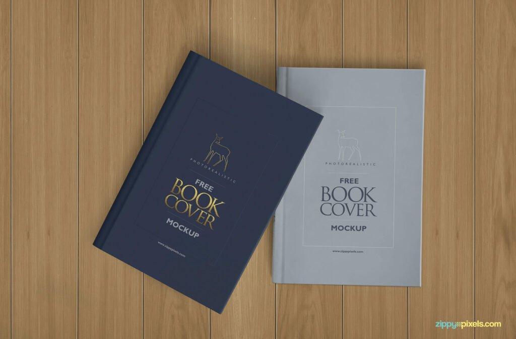Book Cover Presentation Template