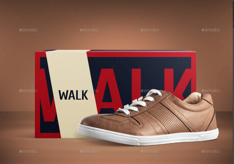 Casual Shoe PSD File Mockup