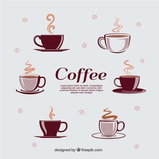Coffee Cup Illustration In Vector Format