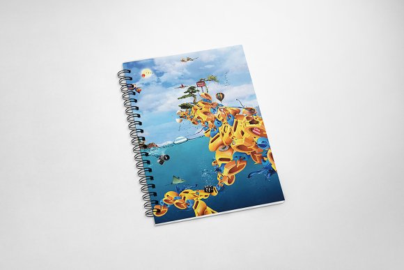 Colorful Cover Notebook