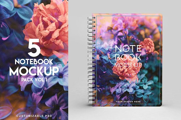 Creative Notebook Template Design