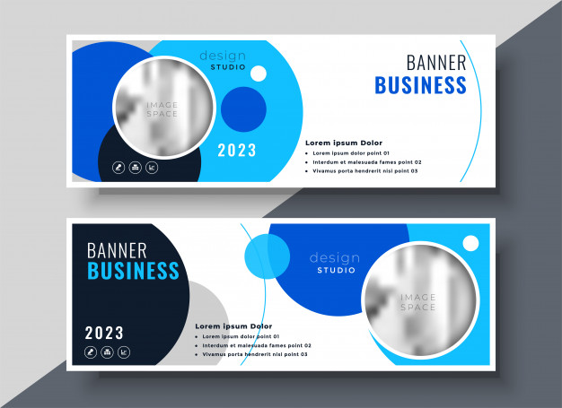 Customizable Studio Banner Mockup