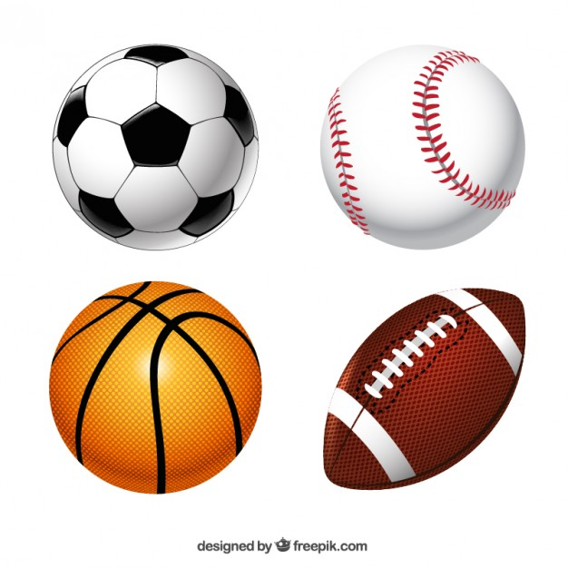 Different Sports Ball Collection Vector file