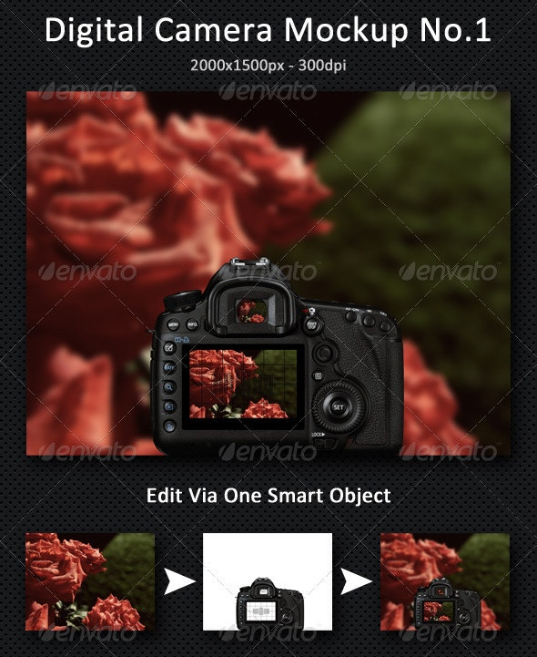 Digital Camera Mock-Up