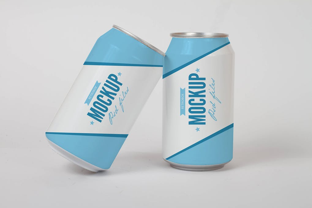 Drink Soda Can Mock Up