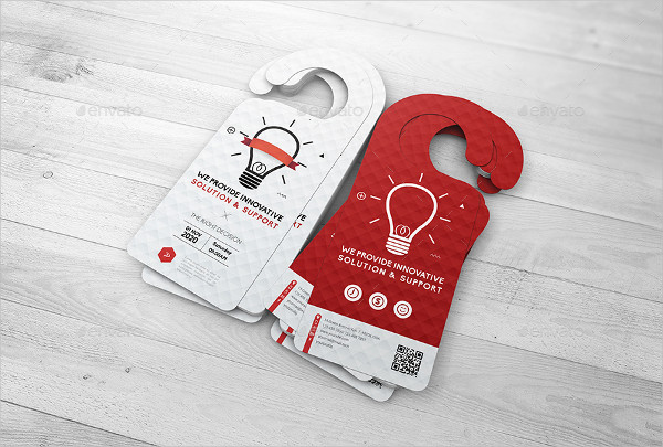 Editable Red and White Mockup PSD