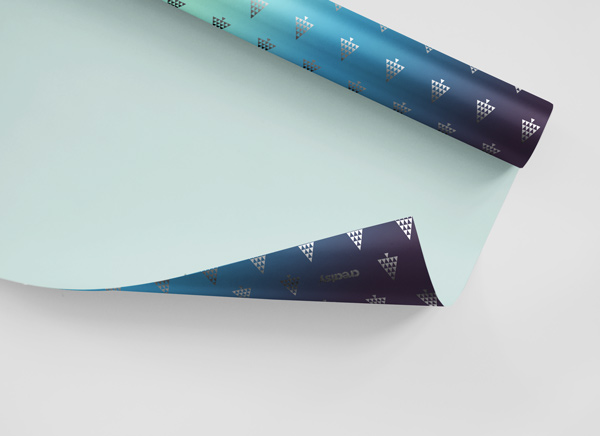 Editable Wrapping Paper Mockup