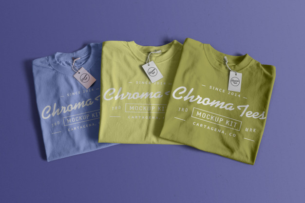 Free Mockup of Tees by Chroma
