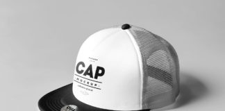 Free Fancy Design Cap Mockup PSD Template