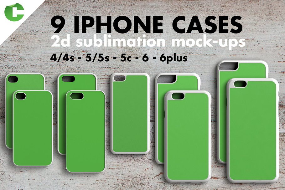 Green Colored Case Cover For Different Mobile Phones.