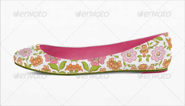 Ladies Loafer Shoe New PSD Design