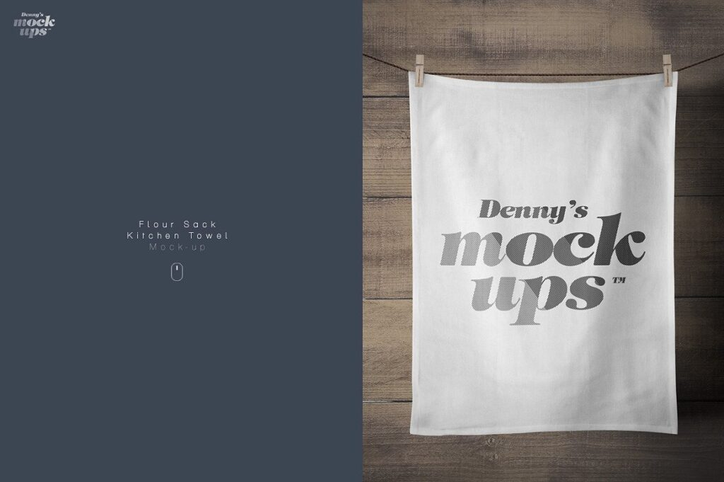 Light Wood Background Denny's Towel PSD