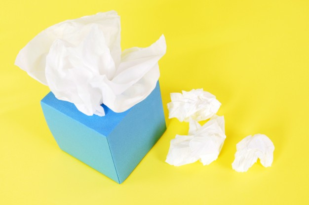 Multiple Tissue Paper And Box Illustration