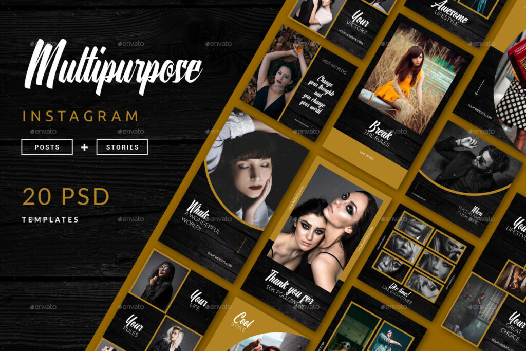 Multipurpose Instagram Template