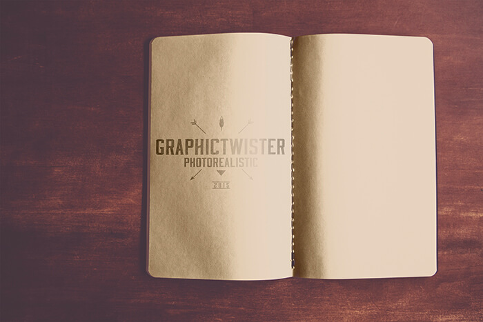Open Notebook PSD Design