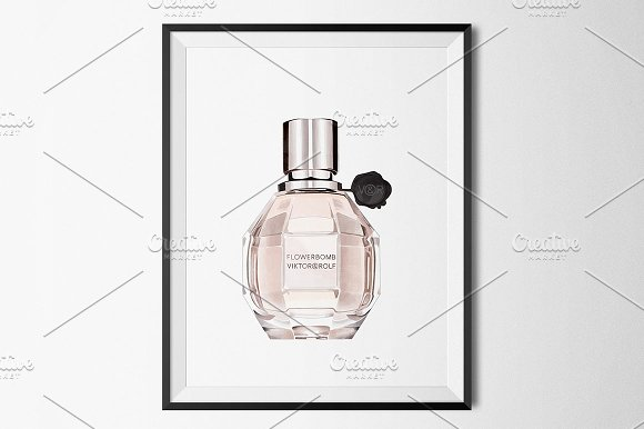 Perfume Bottle with a grenade shape: