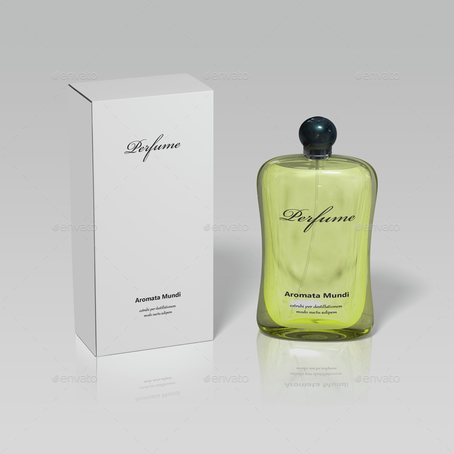 Perfume for Women Mock-up