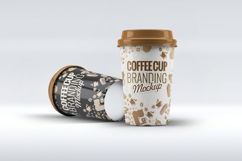 Photorealistic Coffee Cup PSD