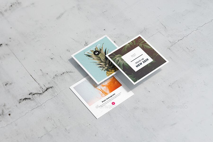 Post Instagram card mock up