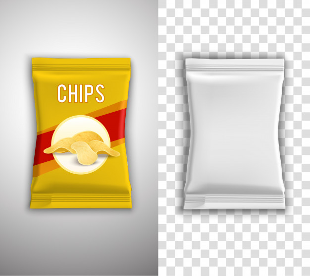 Realistic Food Packaging Vector Design Free