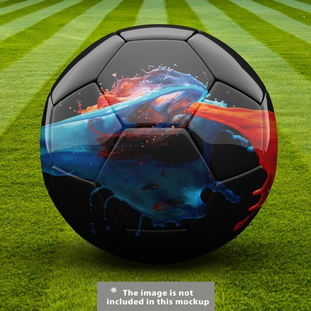 Realistic Football Image