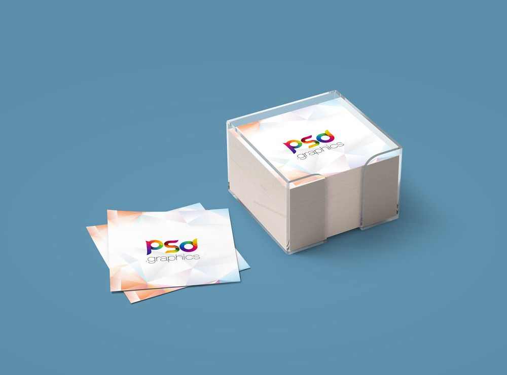Realistic Sticky Notes PSD Design