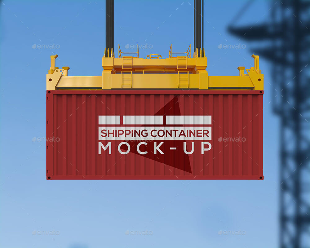 Shipping Container Mockup v2