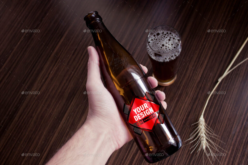 Slim Beer Bottles:
