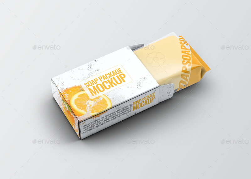 Soap Bar Package Mock-Up