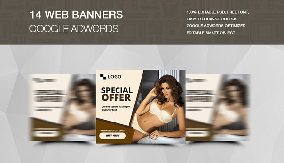 Special Offer Web Banner PSD File