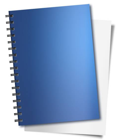 Spiral Binding Notebook PSD Design