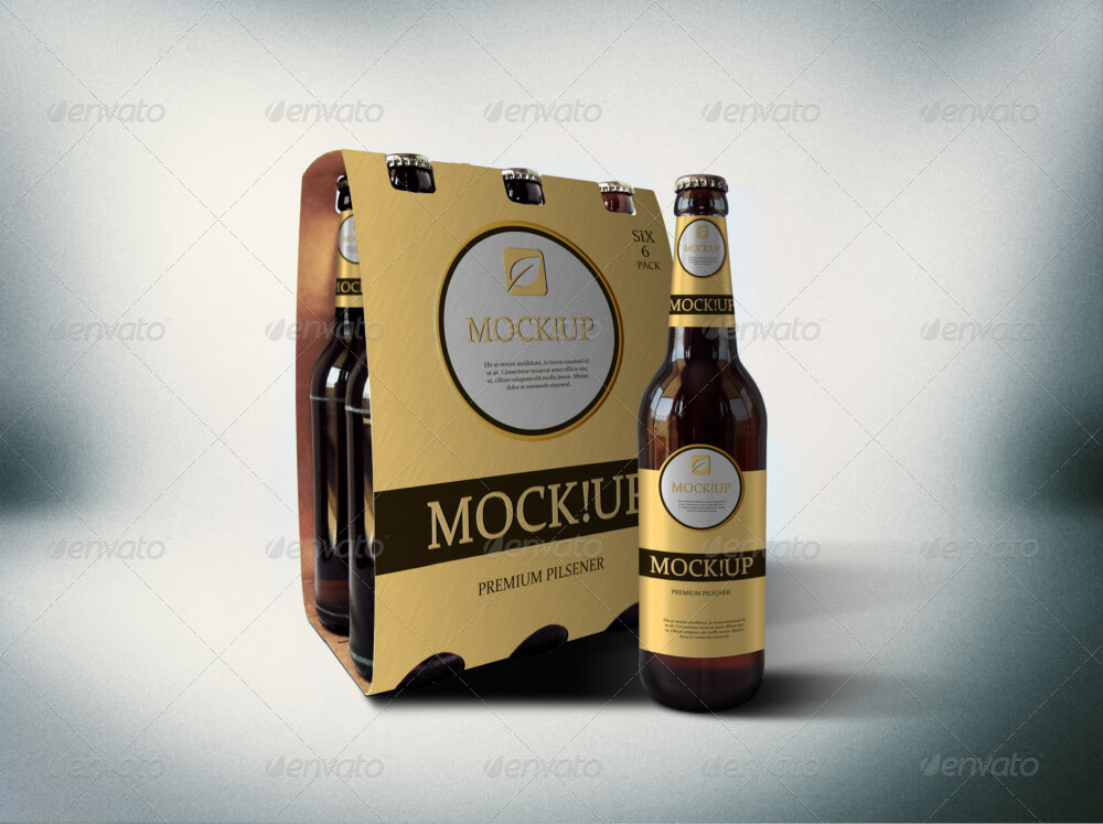 The Retro Beer Bottle Design Idea: