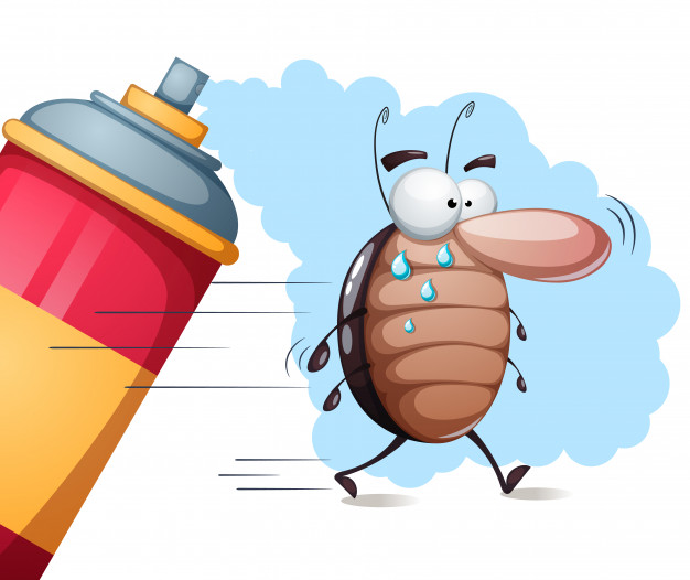 Vector Illustration - Insecticide Spray Can