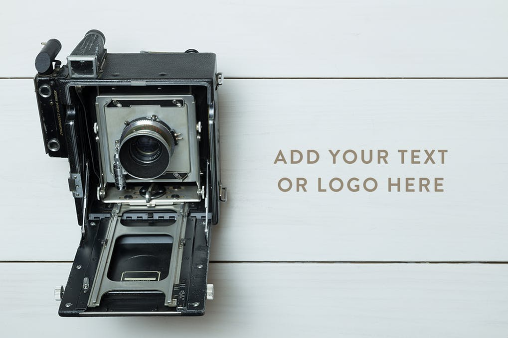 Vintage Design Camera Illustration