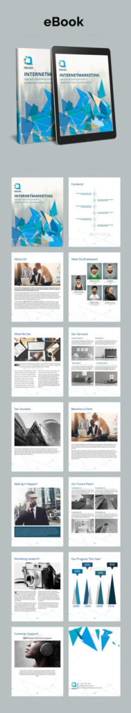 Well Organized Layer eBook Design template