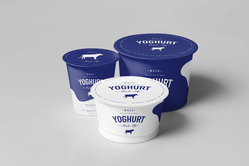 Yogurt Cup PSD