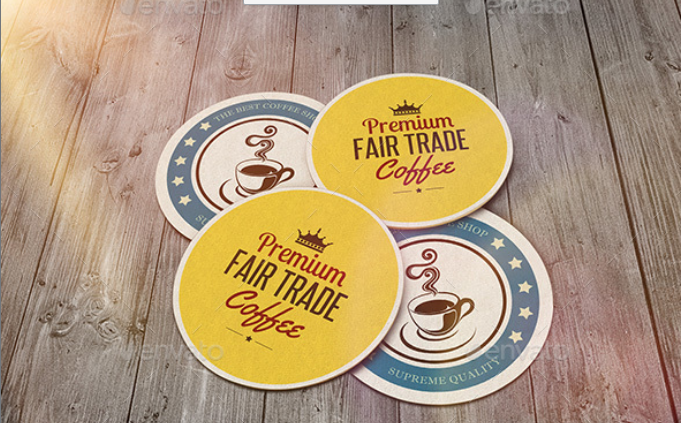 Different Designed Coaster PSD.