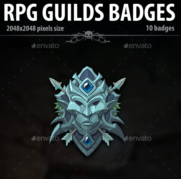 RPG Guilds Badges